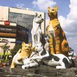 Cat Statue, Kuching, Sarawak.